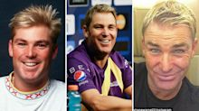 The changing faces of Shane Warne: top surgeon suggests Aussie legend has had work done