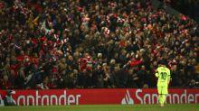La debacle del Barça en Anfield ayuda al Real Madrid