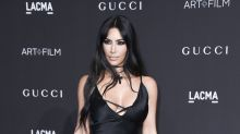 Watch: Kim Kardashian pretends to cut Tristan Thompson's neck in Khloé Kardashian's delivery room after cheating scandal