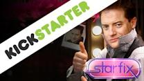 "Brendan Fraser: ""I Would Like To Apply For One Kickstarter, Please"""