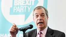 Nigel Farage and the Brexit party savage Boris Johnson's EU negotiations