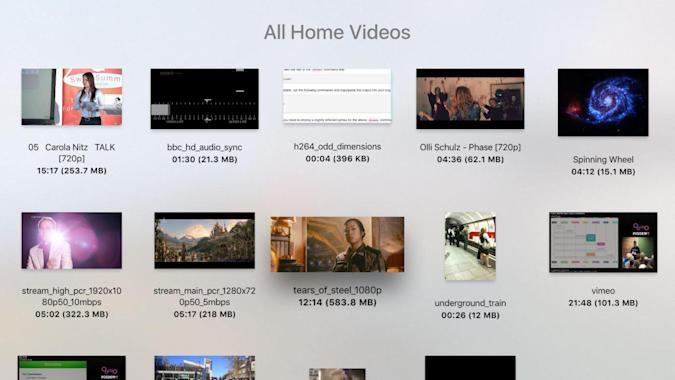 VLC for Apple TV plays virtually all of your media