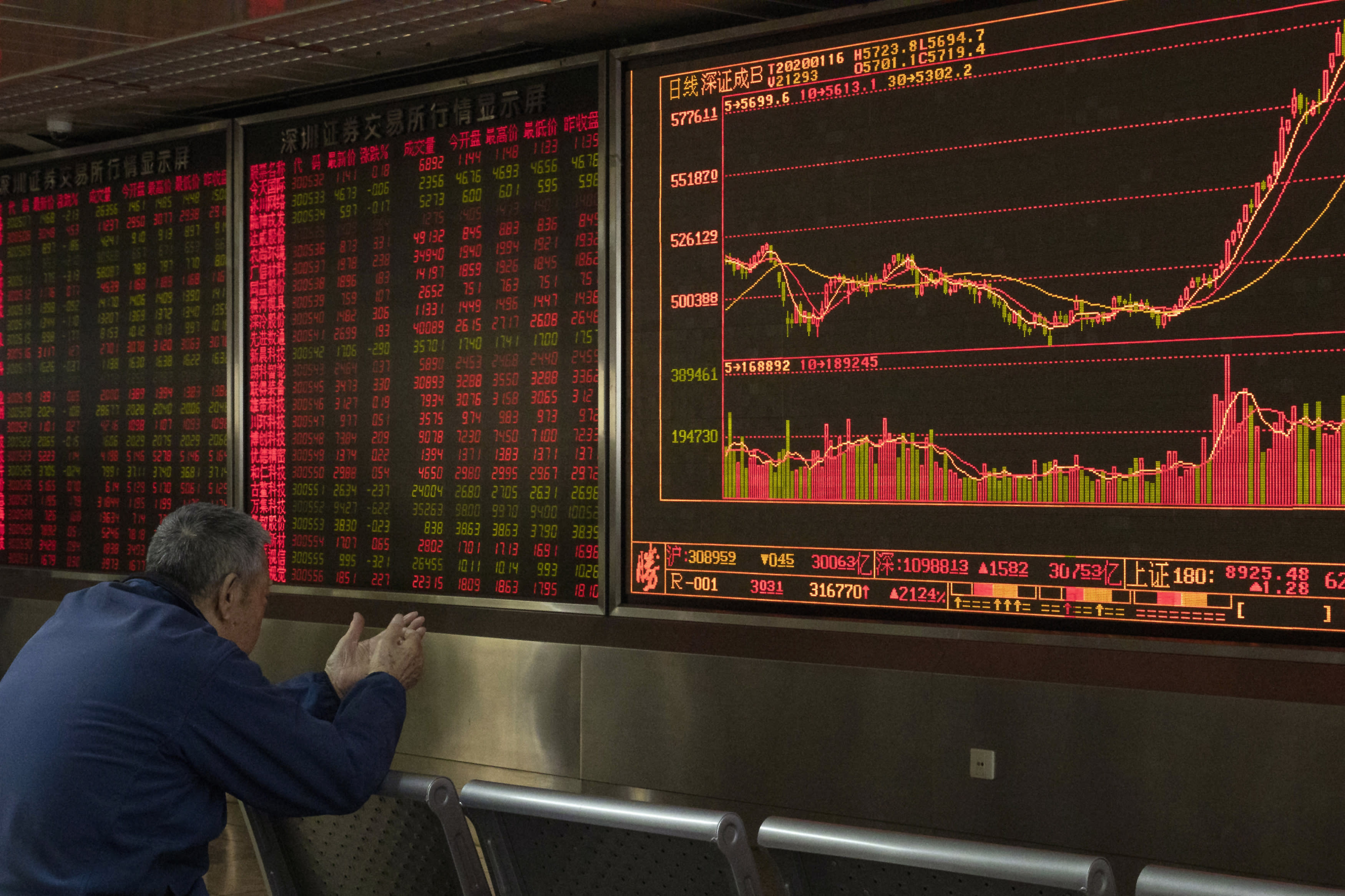Shanghai stocks plunge as coronavirus spreads