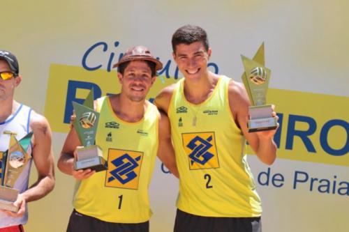 Vôlei de Praia: Líderes no ranking podem garantir título da temporada em Aracaju