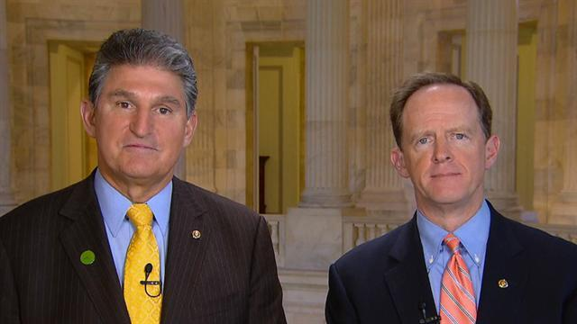 Manchin, Toomey: How we reached bipartisan gun deal