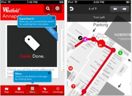 Westfield app updated, now with Concierge Voice Control