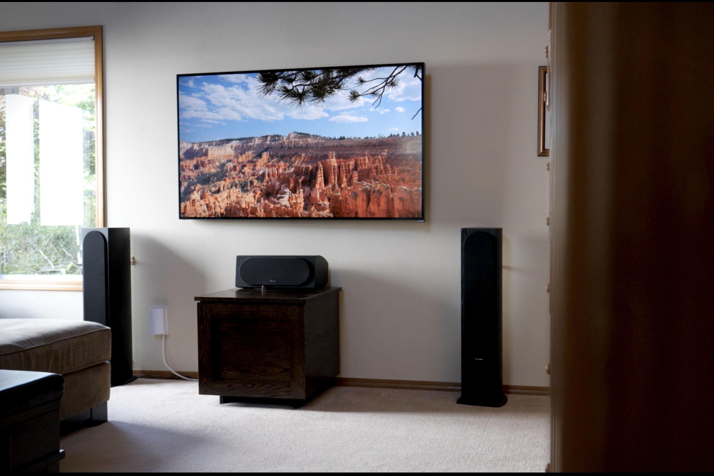 Here s how to figure out what size tv you should purchase - What size tv for living room chart ...