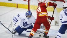 Toronto Maple Leafs down Calgary Flames 4-3 on Mitch Marner's game-winner