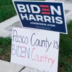 Biden Supporters Rally in Pasco County as Campaign Makes Final Push for Florida
