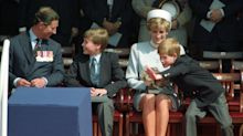 Prince Harry and Prince William pay their own tributes to Princess Diana as U.K. marks Mother's Day