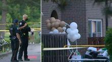 'Absolutely tragic': Three kids shot in birthday party bloodbath