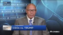 Ex-McDonald's CEO: Trump's actions 'despicable' in wake of violence