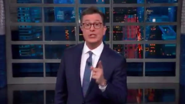 Stephen Colbert Ruthlessly Rebukes Sarah Huckabee Sanders Amid Family Separations