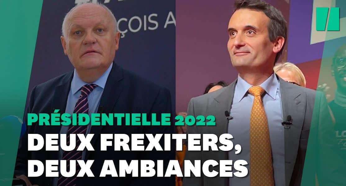 Présidentielle: Philippot et Asselineau d'accord sur le Frexit mais encore loin de l'union