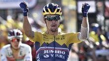 Primoz Roglic wins Tour de France stage four as Julian Alaphilippe retains leads