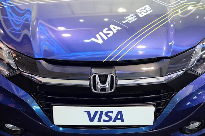Visa thinks your car should pay for its own fuel