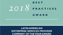 Frost & Sullivan recognizes CenturyLink with the 2018 Latin American Enterprise Services Provider Company of the Year Award
