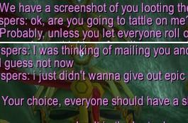 Guildwatch: Giving out epic gems to scrubs