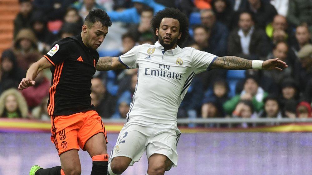 """Marcelo: """"Los rivales que vienen al Santiago Bernabéu quieren fastidiarnos"""""""