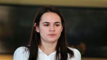 Belarus's Tsikhanouskaya calls for release of opposition leader Kolesnikova