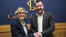"""Salvini 'ingaggia' Giulia Bongiorno: """"Sarà capolista della Lega"""""""