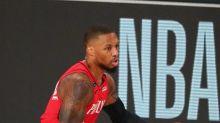 Basket - NBA - Portland - Play-offs NBA: Damian Lillard (Blazers) absent du match 5 face aux Lakers