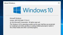 十一月就停止支援 版本 1803 Windows 10 現可更新至最新版本