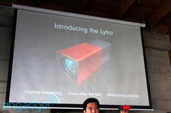 Lytro introduces world's first light field camera: f/2 lens, $399, ships early 2012