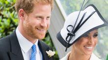 Prince Harry Scolds Jockey For Kissing Meghan