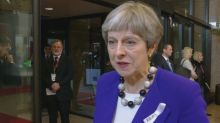 U.K., German leaders on Moscow's alleged involvement in nerve agent attack