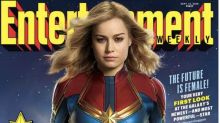 No internet-breaking trailer, but we do have the first look at Brie Larson's 'Captain Marvel'