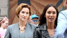 Megan Fox Spotted With Original April O'Neil on Set of 'TMNT 2'