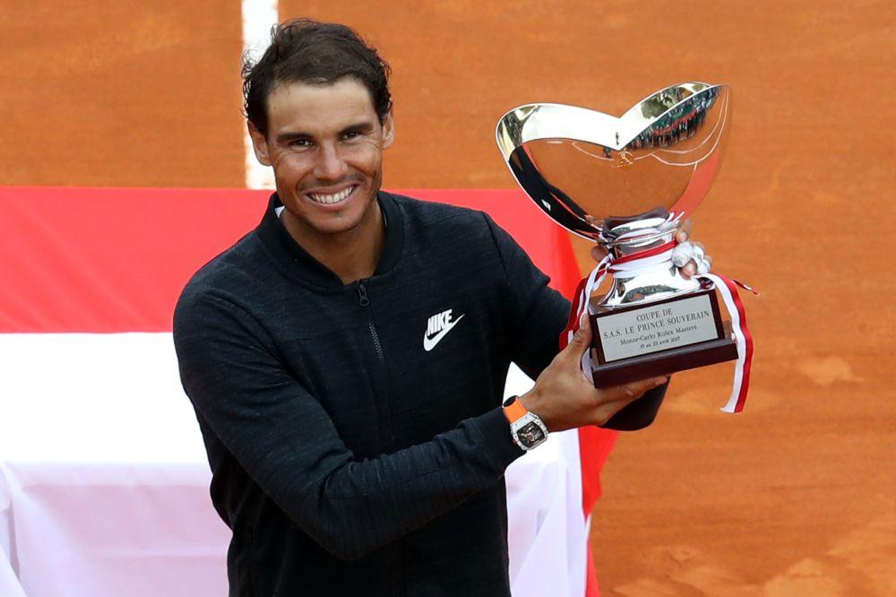 Monte-Carlo: 10e sacre pour Rafael Nadal, trop fort pour Albert Ramos