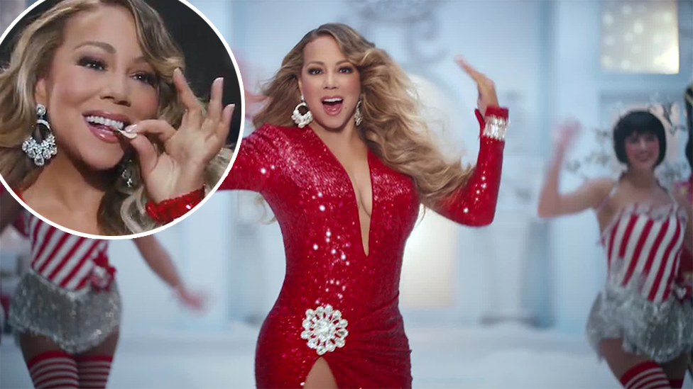 Fans mock Mariah Carey's 'baffling' new Christmas advert