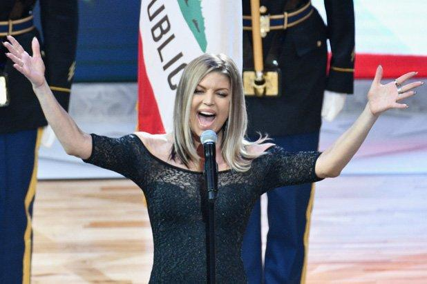 Fergie 'Butchers' National Anthem at NBA All-Star Game ... Fergie National Anthem