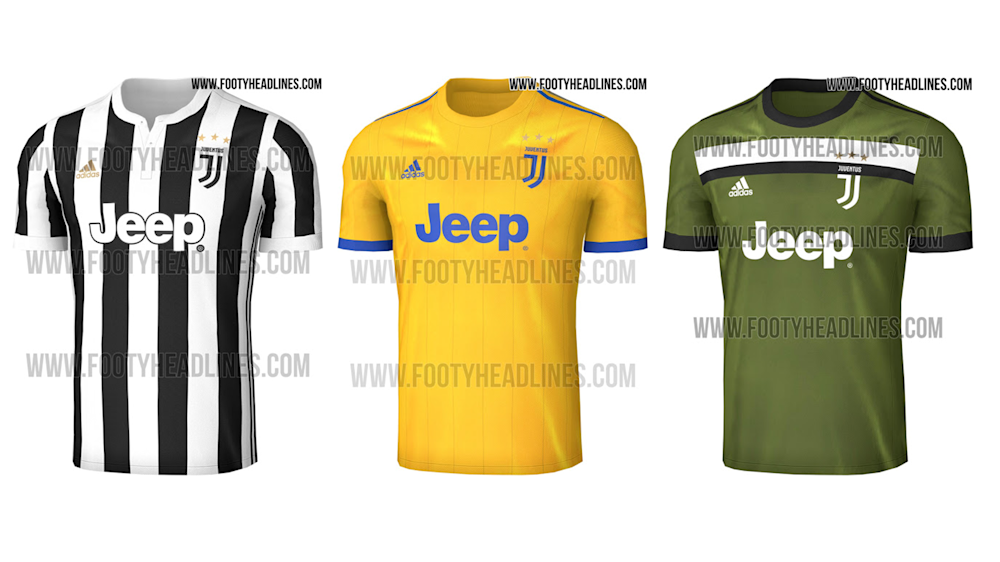 Indiscrezioni e anticipazioni: ecco le nuove maglie della Juventus (FOTO)