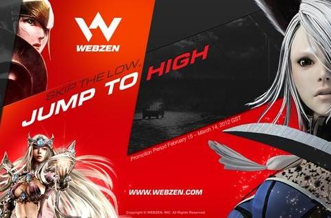 Webzen giving away fully geared high-level characters