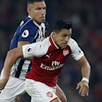 Tony Pulis accuses Alexis Sanchez of 'cheating' as decisions go Arsenal's way in victory over West Brom
