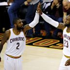 LeBron James says goodbye to Kyrie Irving on Twitter