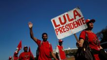 Brazil poll shows jailed Lula extending lead for October election