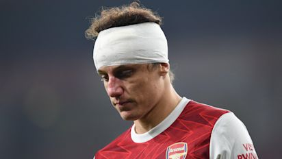 David Luiz to miss Arsenal vs Rapid Vienna match as defender continues recovery from head injury