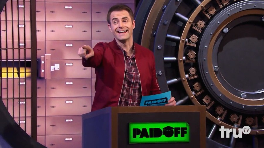 You'll never guess how one comedian is working to wipe out your student loans