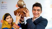 Un niño sirio recibe el Premio de la Paz Infantil por una conmovedora causa