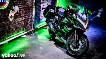 悍與舒適共存的絕對平衡!全新2020年式Kawasaki Ninja 1000SX旅跑新登場!