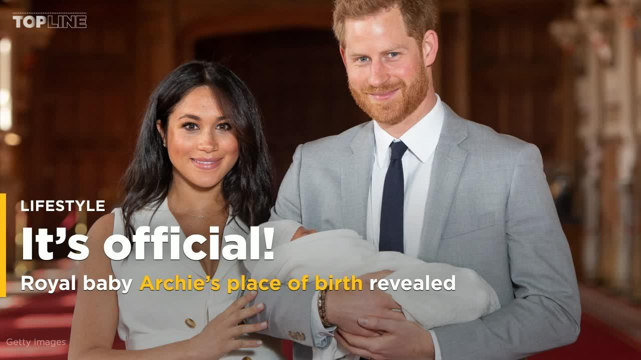 Royal Baby Archie S Birthplace Revealed In Certificate Video