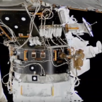 Second docking adapter for commercial crew vehicles installed on International Space Station