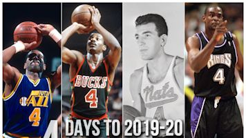 Countdown: Who was best No. 4 in NBA history?