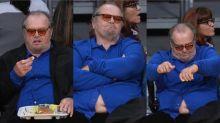 La imagen más preocupante de Jack Nicholson
