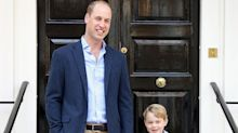 Prince George poses for official first day of school picture