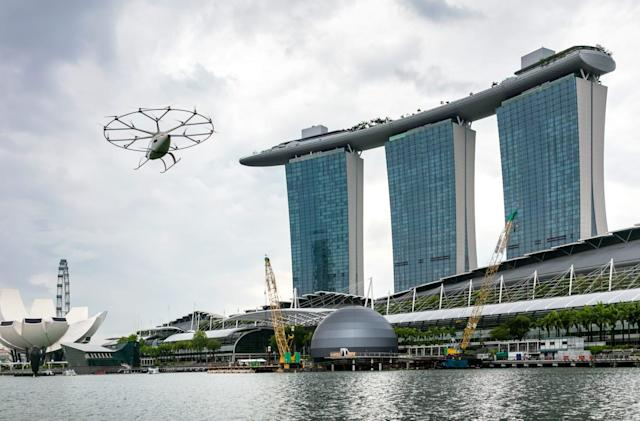 Volocopter is researching the best air taxis routes in Southeast Asia